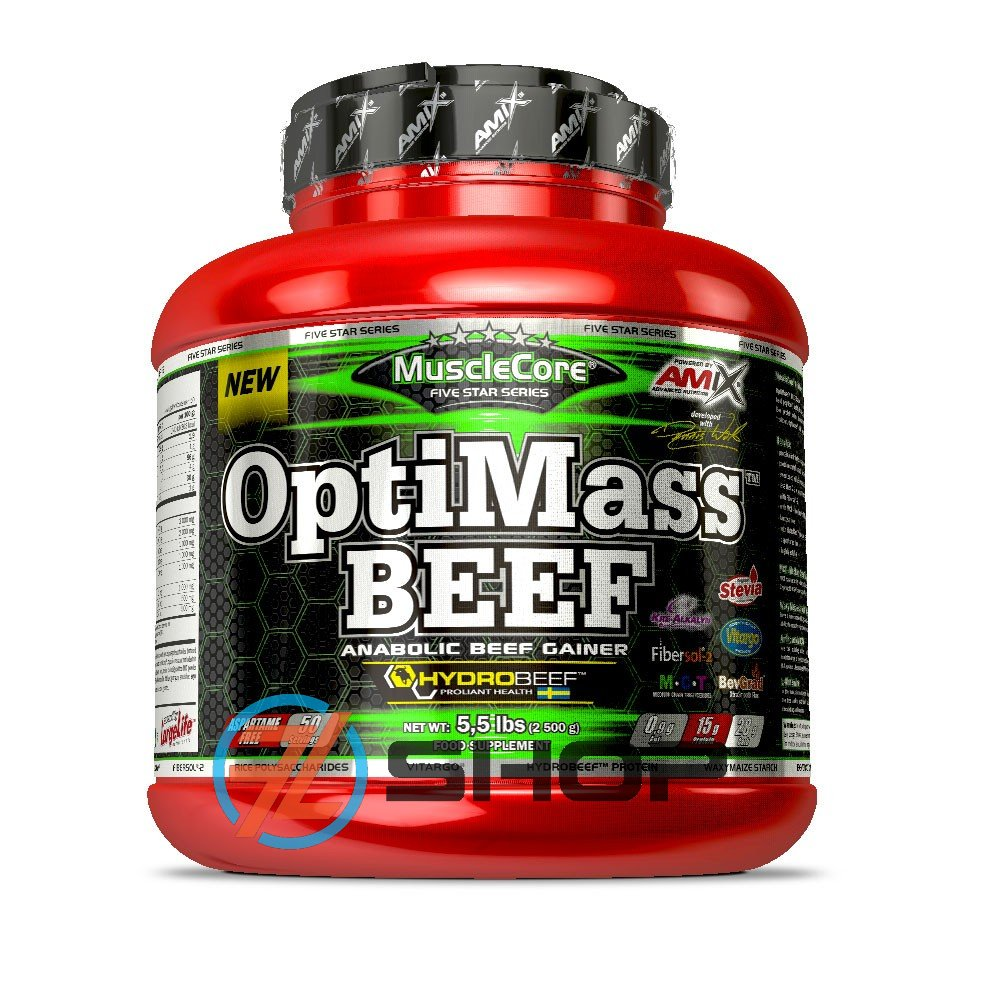 Amix Nutrition OptiMass Beef 2500 g