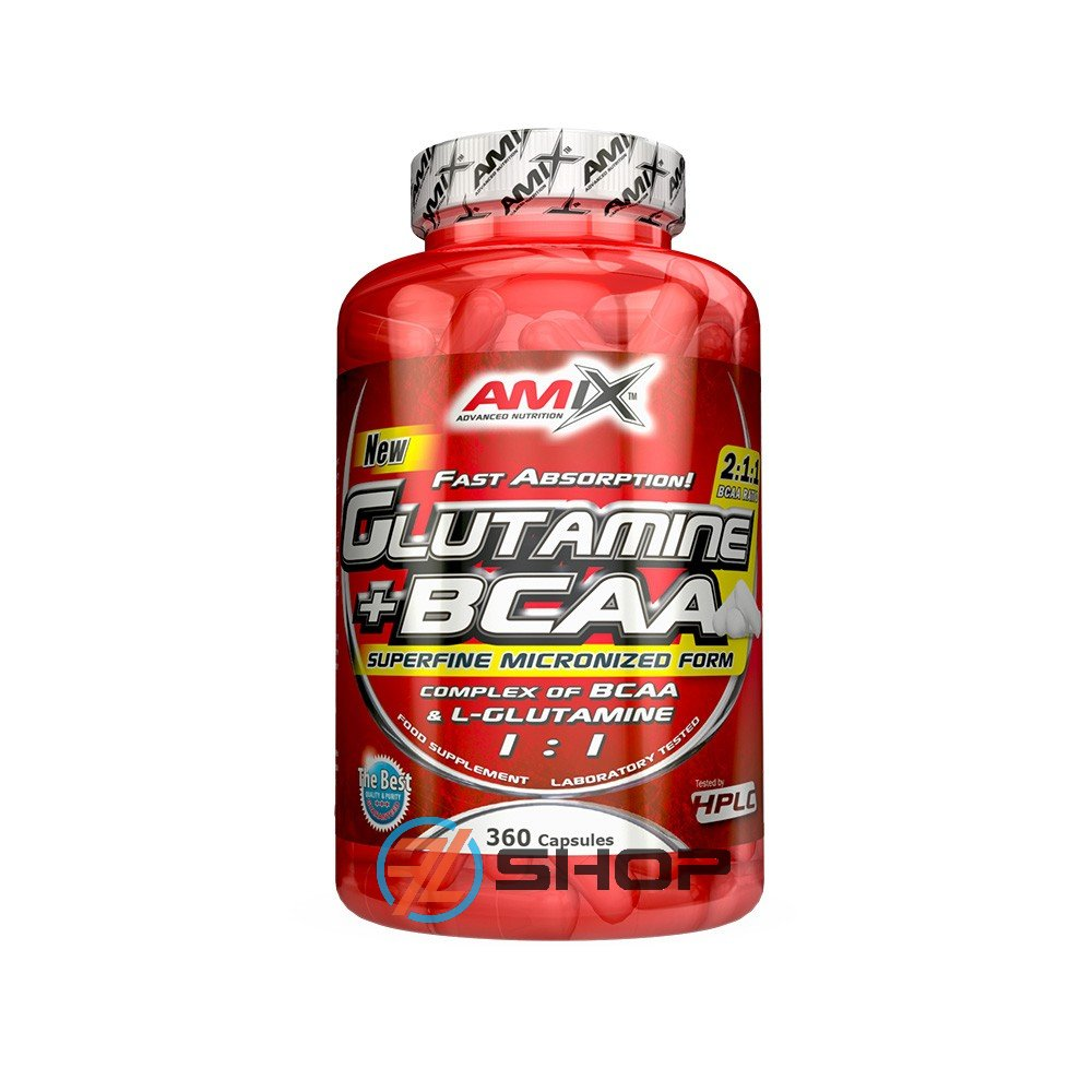 Amix Nutrition Glutamine + BCAA 360 tablet