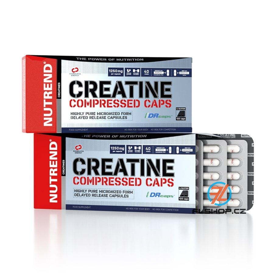 NUTREND CREATINE COMPRESSED 120 tablet