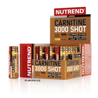 Nutrend Carnitine 3000 shot 1200 ml
